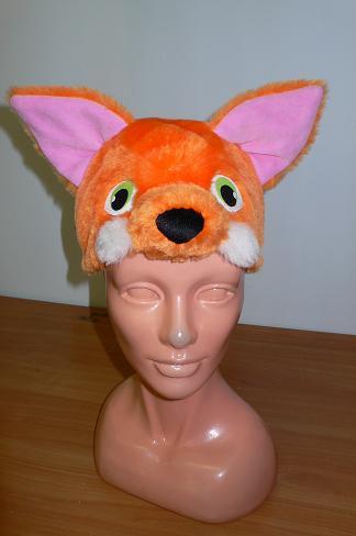 Шапочка лисы.