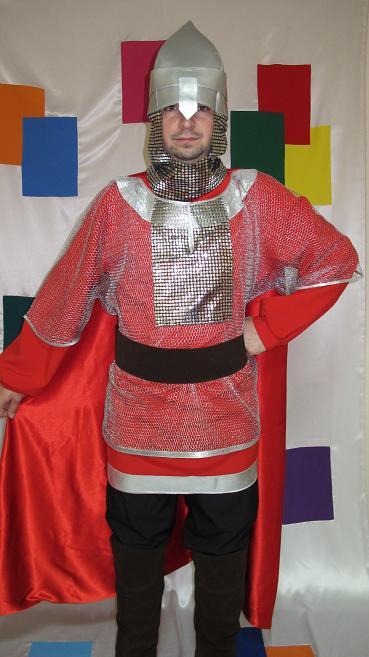 Как самому сделать костюм богатыря