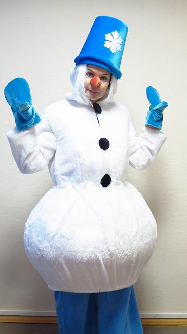 Костюм снеговика фото своими руками