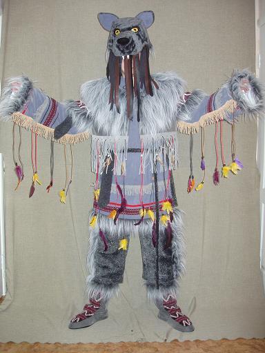Своими руками костюм-шаман 65